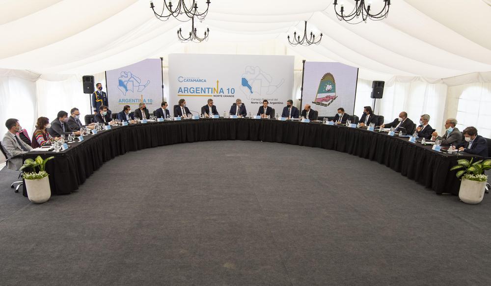 Reunión del Consejo Federal del Norte Grande en Catamarca (4)