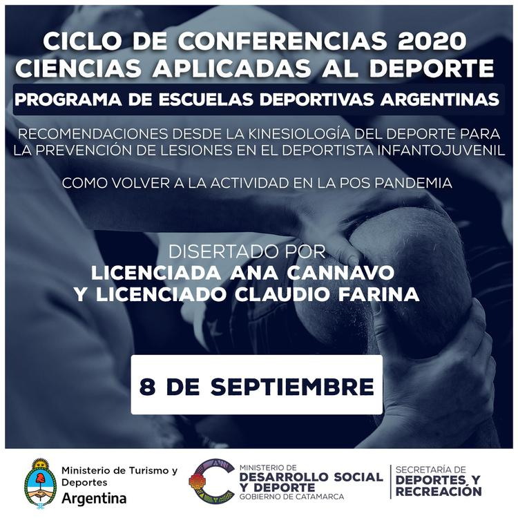 CICLO DE CONFERENCIAS EDA 2020