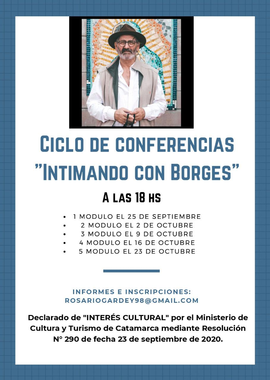 Ciclo conferencias Borges