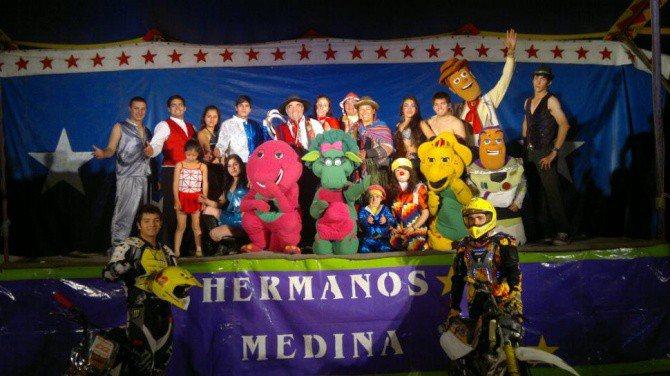 Circo hermanos medina en santa mar a for Medina motors pueblo co