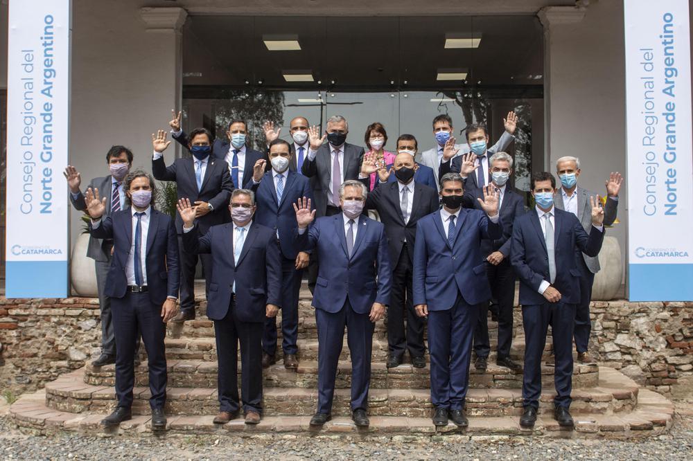 Reunión del Consejo Federal del Norte Grande en Catamarca (2)