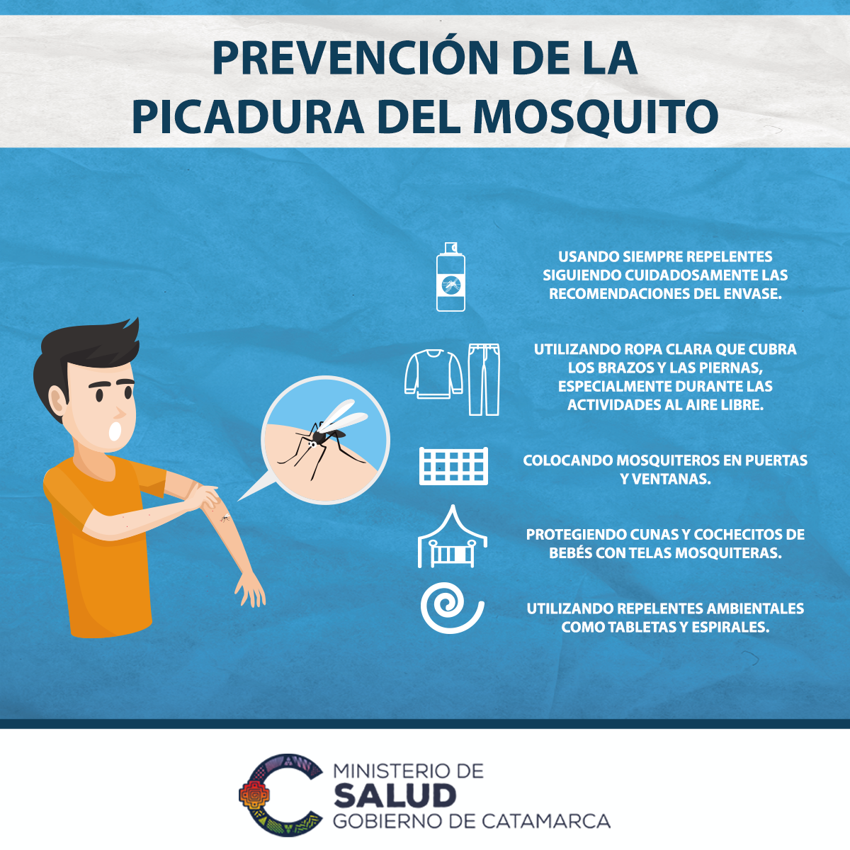 Prevencion de picaduras -Dengue