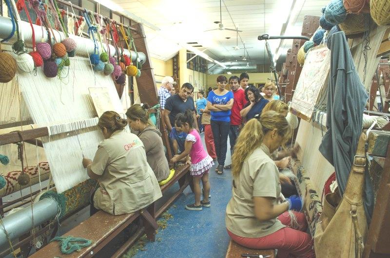 La f brica de alfombras se puede visitar todo el a o - Fabricantes de alfombras ...